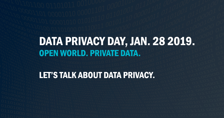 Data Privacy Day 2019 poster