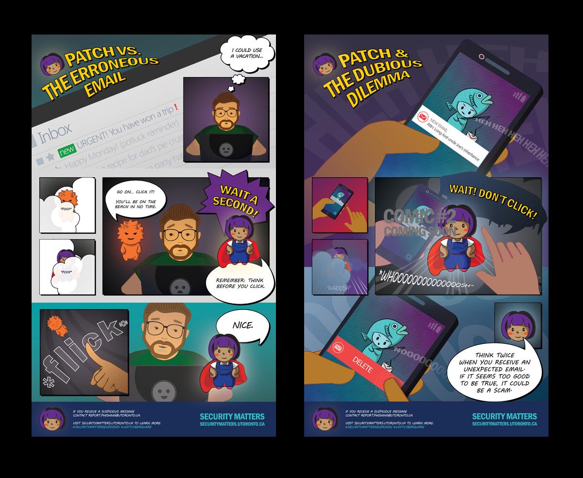 Image of security matters comics