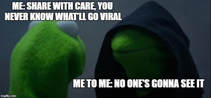 Kermit meme: