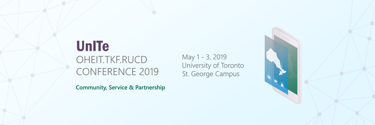 UnITe conference: May 1-3, 2019